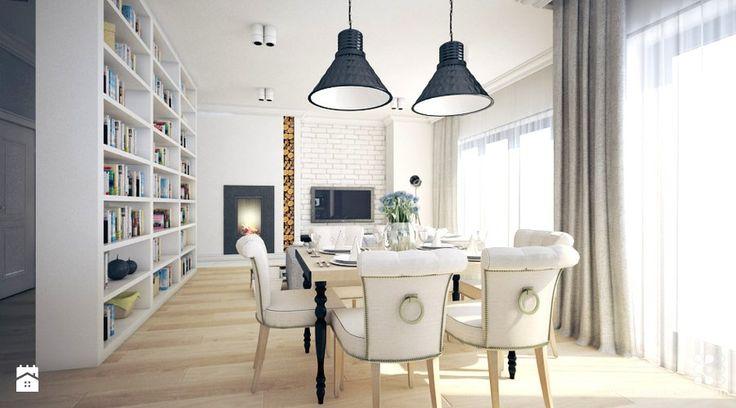 Jadalnia styl Skandynawski - zdjęcie od Klaudia Tworo Projektowanie Wnętrz - Jadalnia - Styl Skandynawski - Klaudia Tworo Projektowanie Wnętrz