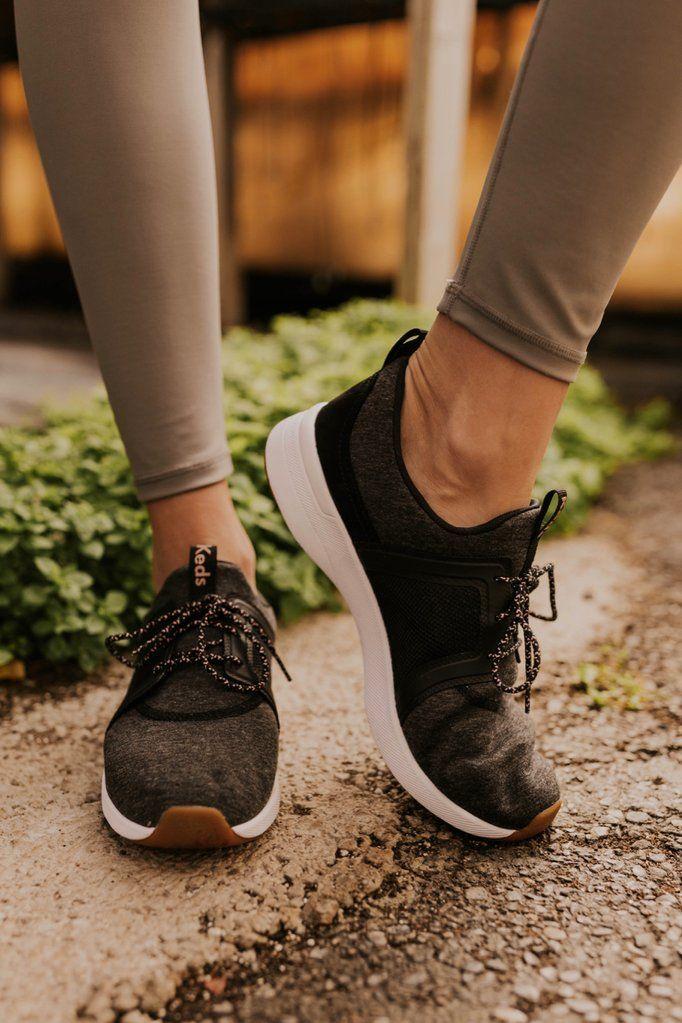 ROOLEE | Sneakers, Black wedge shoes, Keds
