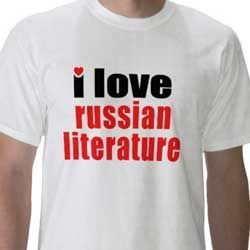 I Love Russian Literature tee shirt
