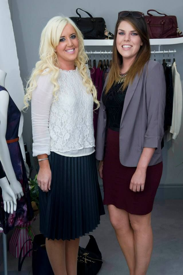 Ciana and Sinead at the launch!