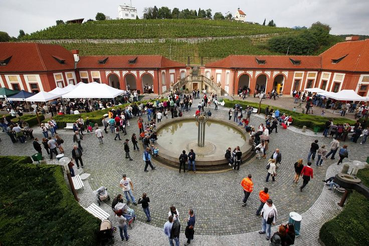 Wine festival at Troja Chateau, Prague (with a view over St. Klara wineyards in a Botanical garden).