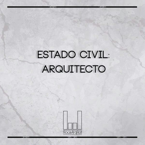 Estado civil: Arquitecto