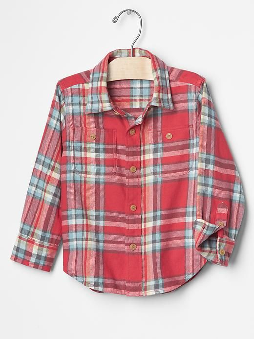 Plaid flannel shirt Product Image