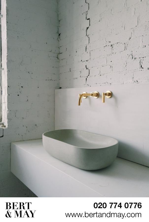 oval concrete basin