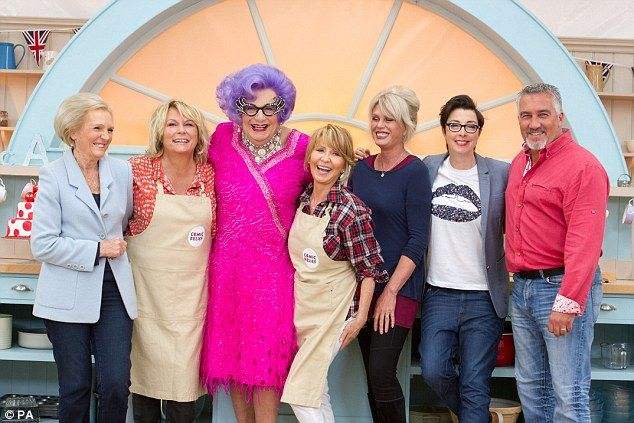 07.02.15 The Great British GIGGLE Off! Victoria Wood and Lulu reveal the madcap antics that went on in Comic Relief's Celebrity Bake Off