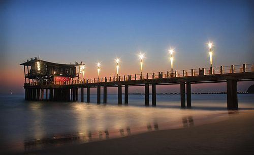 Moyo Restaurant at the end of the pier. #Durban.
