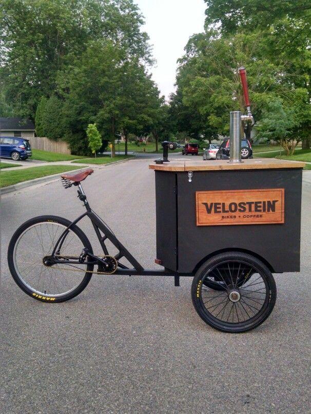 Velostein cold-brewed nitro cargo bike. Madison, WI