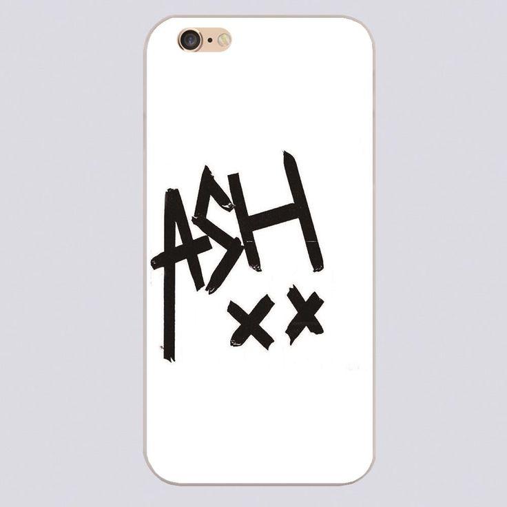 Ирвин эш художественный дизайн черный кожа телефон крышка чехол для iphone 4 5 5c 5S 6 6 s 6 плюс твердой оболочки