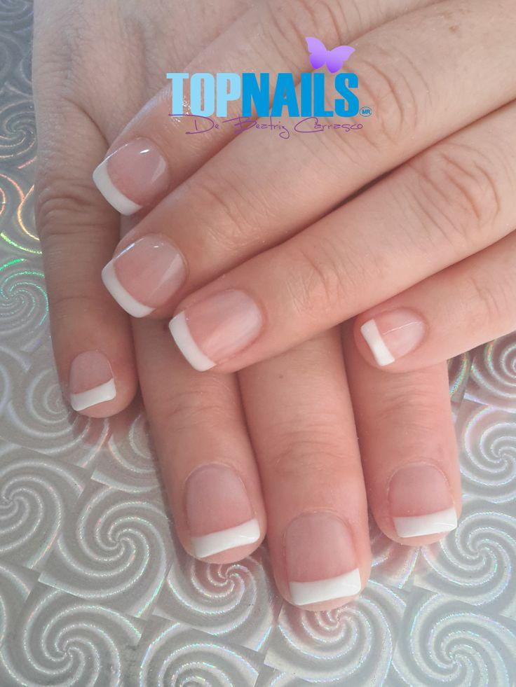 Uñas Acrílicas Francesas (Acrylic Nails French) Hazte Fans o Me Gusta  en https://www.facebook.com/topnails.cl   www.topnails.cl ☎94243426, saludos Beatriz