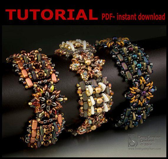 Shapeshifter Beadwoven Bracelet PDF by BettyStephanBeadwork