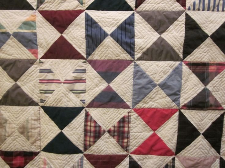 Daddy S Shirts Memory Quilt Scrap Pinterest