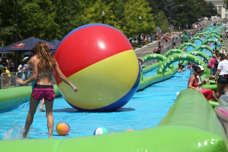 1,000ft water slide coming to Vancouver? Apparently! We're on Slide the City's list!