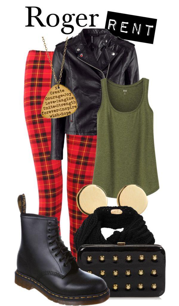 Roger - Broek, schoenen en vest, maar dan wel voor een jongen (I like plectrum ketting!)