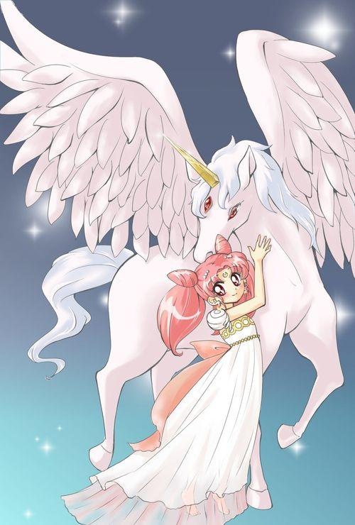 Sailor Moon / Chibi Usa and Helios