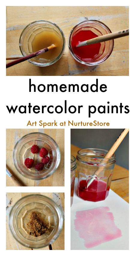 easy homemade watercolor paint recipe :: DIY paint recipe :: homemade paint using natural ingredients :: art and science project