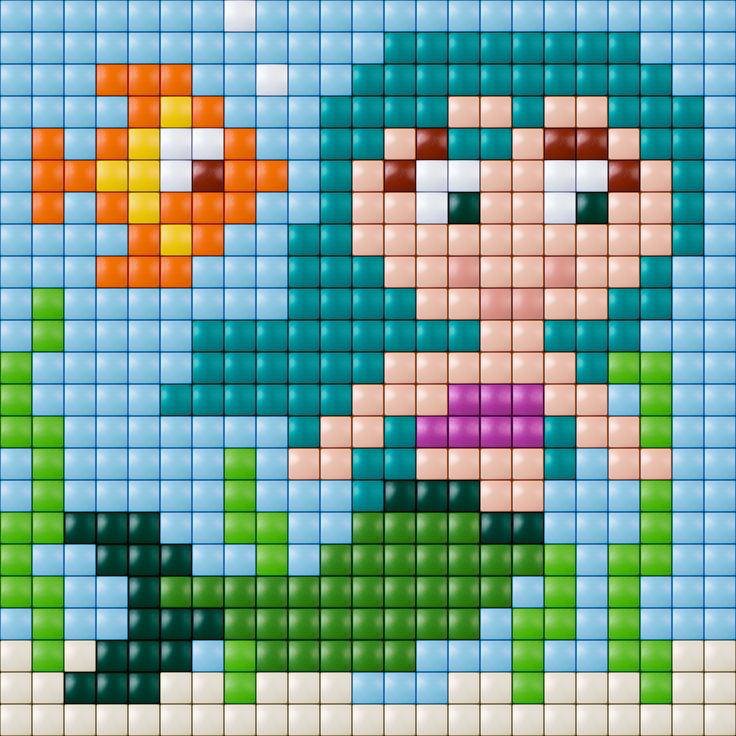Mermaid Pattern - Pixelhobby / Pixelgift