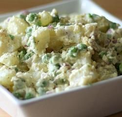 This nutrition's Potato salad recipe is popular vegetable salad made by chef zakir in cooking show DAWAT on masla tv.