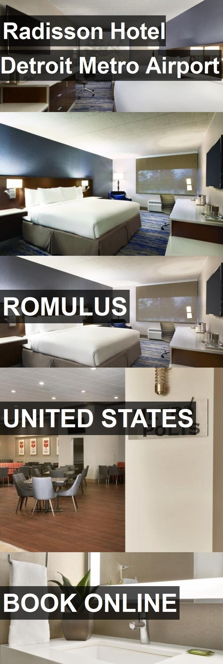 Radisson Hotel Detroit Metro Airport in Romulus, United States. For more information, photos, reviews and best prices please follow the link. #UnitedStates #Romulus #travel #vacation #hotel