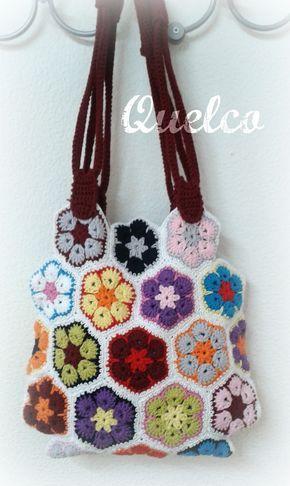 Bolso Crochet Granny