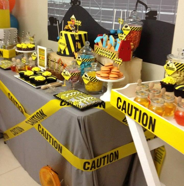 Construction Themed Baby Shower Baby Shower Themes
