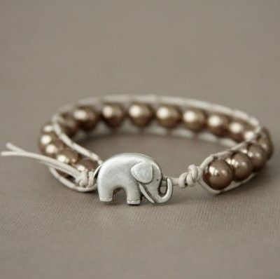 Love this! They have these on etsy and you can customize them. The elephant is supposed to bring you good luck on your wedding day