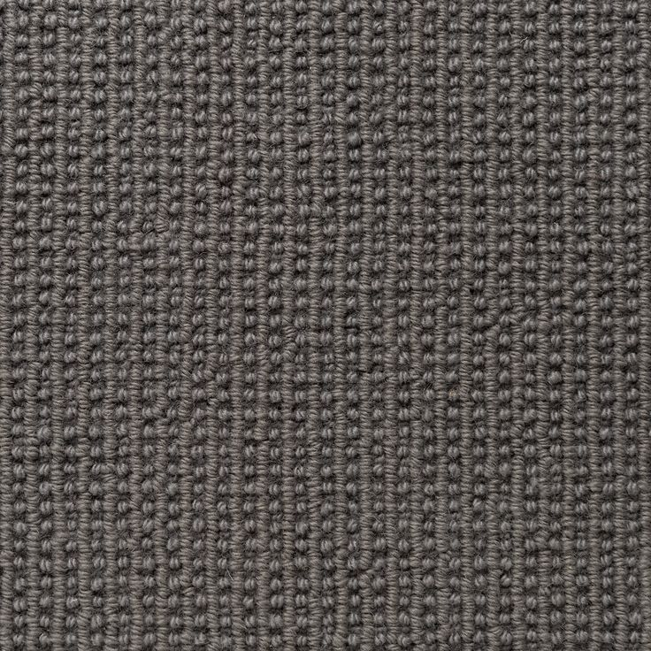 #New colour Iron is from our Roma #wool #carpet collection which features a high & low tonal rib which gives the range a soft linear effect without an obvious stripe. This #luxurious tufted loop pile #carpet is produced with 100% New Zealand wool and is available at 5 metres wide.
