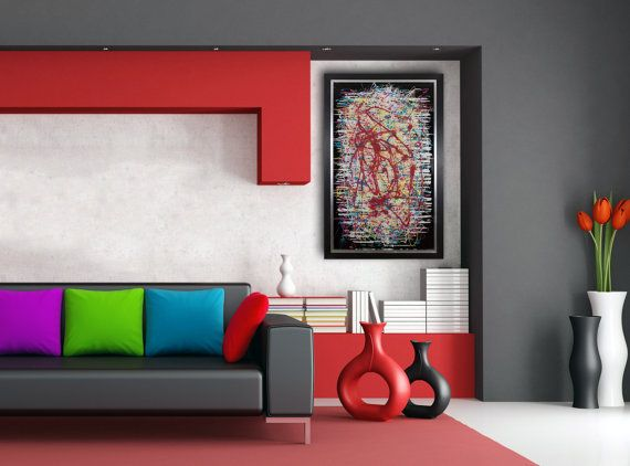 Large Abstract Wall Art Contemporary Modern Glass Unique Clocks For The Bedroom