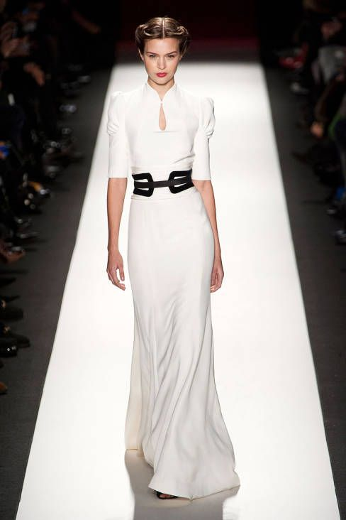 Carolina Herrera Fall 2013 runway #NYFW