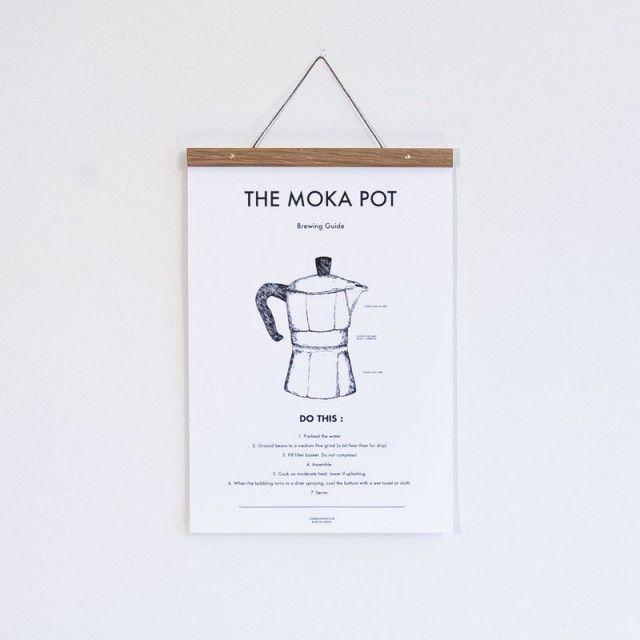 Mokabryggare Poster (30x40 cm) - mat & dryck - TAVLOR & POSTERS