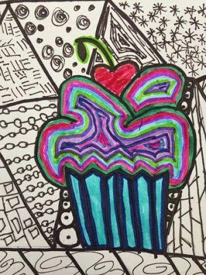 Kim & Karen: 2 Soul Sisters: Sweetness in the ArT rOoM - Cupcakes & Patterns
