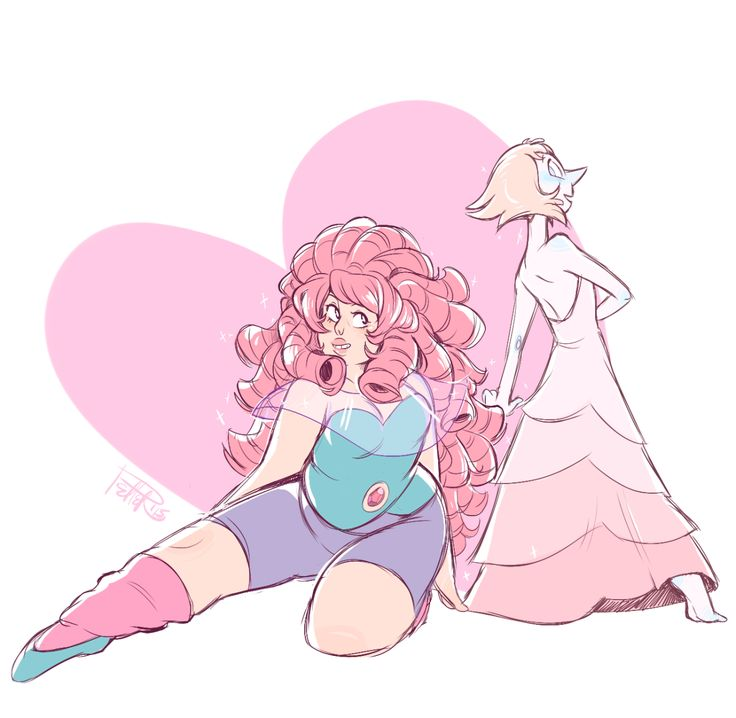 Rose and pearl steven universe pinterest awesome - Rose quartz steven universe wallpaper ...