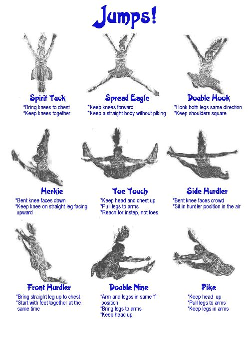 cheerleading moves - Google Search