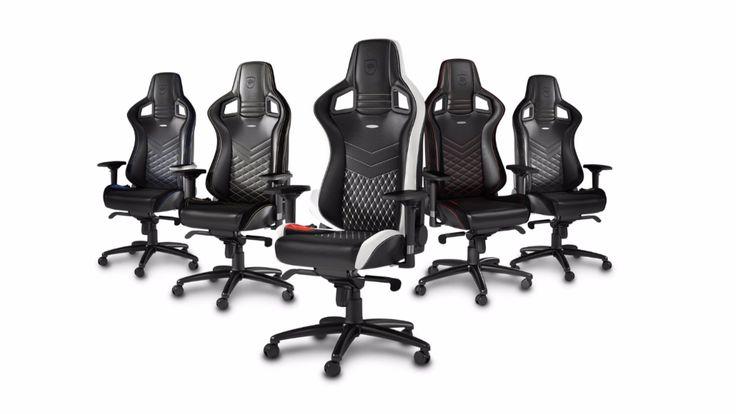 Gaming-Chairs sieht man als Zocker immer häufiger. BILD hat den ersten Echtleder-Gaming-Stuhl von Noble getestet.