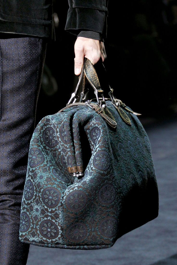 Gucci Fall/Winter 2012-13 for Men ~ Oooh.... Love! For me though...