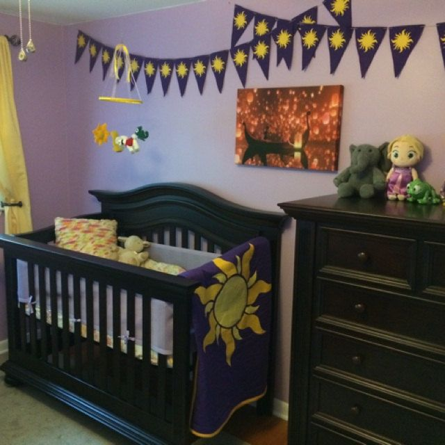 tangled themed nursery - Baby Themed Rooms