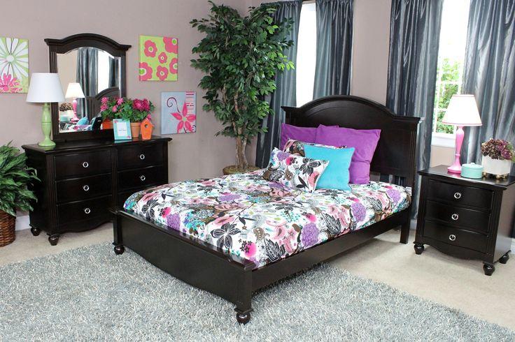 Victoria Kids Bedroom in Espresso Media Image 1