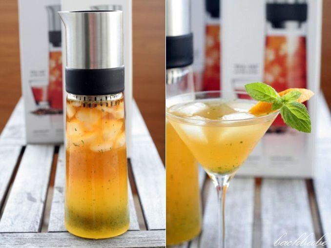 TEA-JAY jeges tea készítő receptfüzettel, samova teával / Iced Tea Maker, incl. recipe book and samova tea http://www.backbube.com/2013/06/24/ice-tea-monday-das-geheimnis-des-mystic-ice-tea-oder-how-to-win-a-tea-jay/