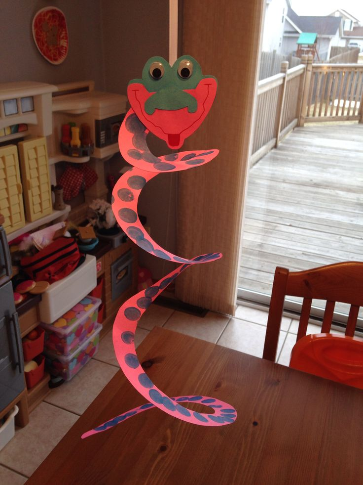 Snake Craft - The Jungle Book Movie Night - Disney Movie Night - Family Movie Night