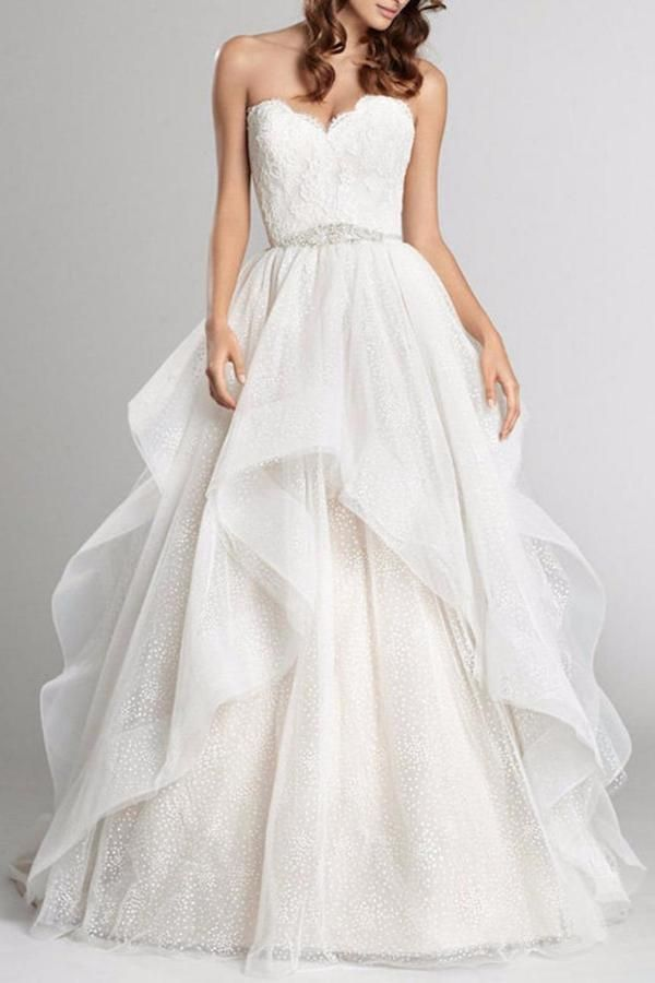 Alvina Valenta Horsehair Ball Gown at shoptiques #affiliatelink