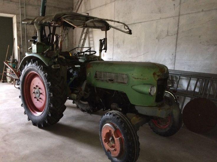 Traktor Fendt Farmer 2 von 1963 zum herrichten.  Neuer Anlasser, neue Zündkerzen, Motor läuft,...,Traktor Fendt Farmer 2 von 1963 in Baden-Württemberg - Baden-Baden