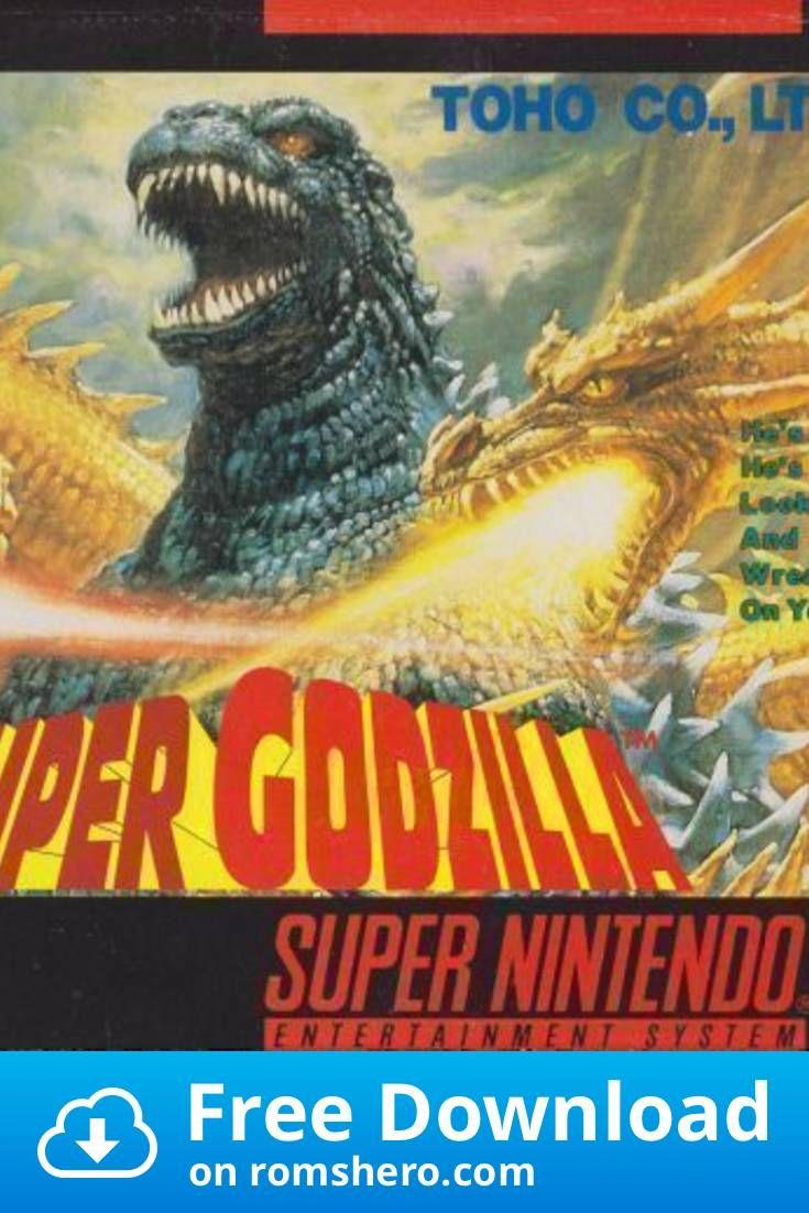 Download Super Godzilla Super Nintendo Snes Rom In 2020