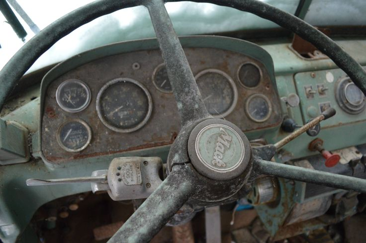 The dashboard of a Mack truck left in a farmer's woodlot. [OC] [3609 x 2400] - Imgur | Symbiosis ...