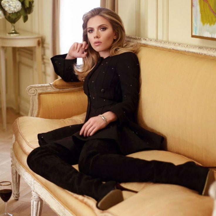 » Scarlett Johansson in balmain vanity fair franceStyle Stamped