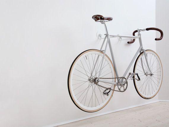 Bike Hooks / ALL BLACK GUM by AlexaLethen on Etsy