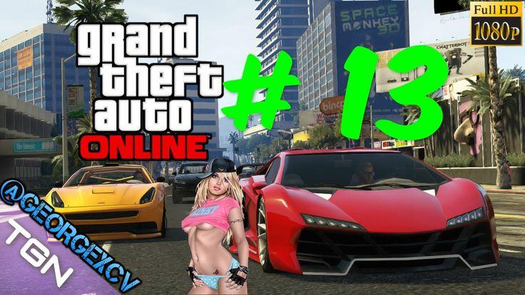 GTA 5 PC Online # 13 con @djjavitohd 1080p 2.0 @georgexcv