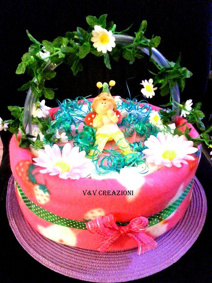 V&V CREAZIONI - l'atelier dei pannolini per vedere tutte le nostre torte, per info e prezzi, visitate la pagina www.facebook.com/... *** My diaper cakes ' page on facebbok! :)