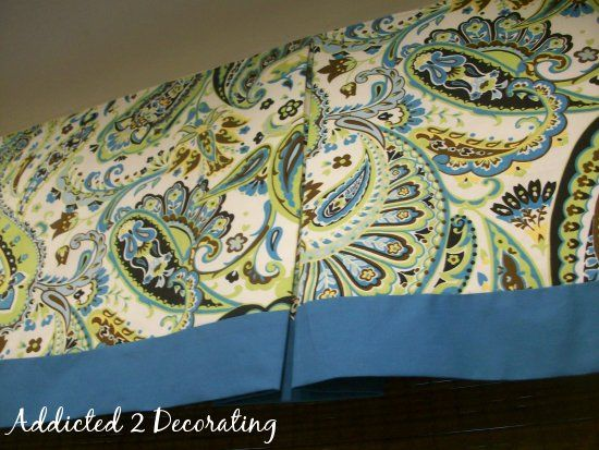 how to - pleated valance, good step by step instructions