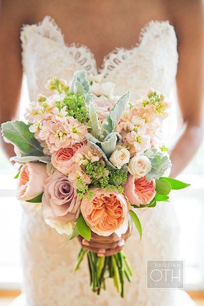 Garden-Gorgeous Wedding Bouquets
