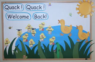 1 - 2 - 3 Learn Curriculum: September Bulletin Board Idea