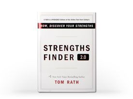 This is a great book to help determine your strengths in everything you do! It helps make sense who you are and why you do the things you do.